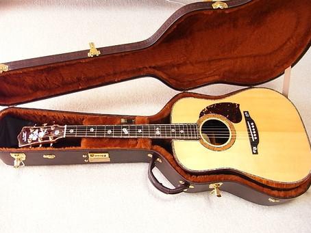 SUMIギターのオーダー例 ハカランダドレッド D-45仕様です
