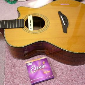 ギターの弦交換でテンションを変えよう