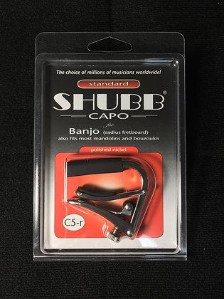 バンジョー用カポタスト SHUBB CAPO Banjo C5-r