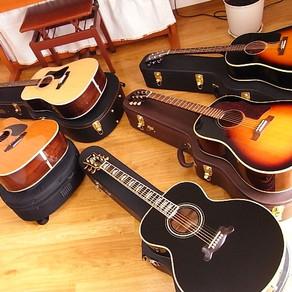 日本製ギターと海外製ギターを弾き比べる その2 日本製ギター5本