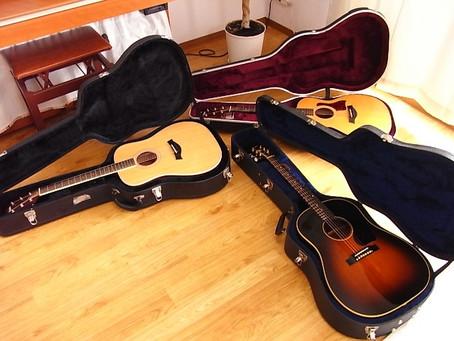 日本製と海外製ギターを弾き比べる その3 アメリカ製ギター3本