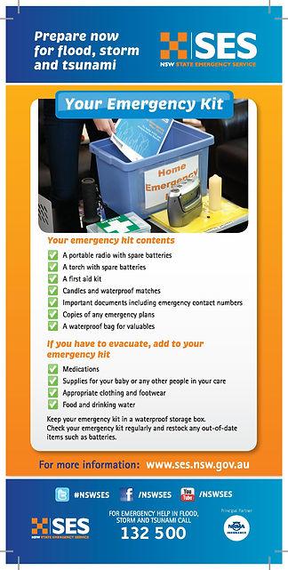 SES Emergency Kit