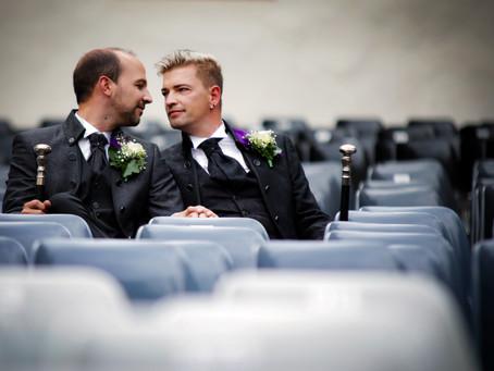 Sebastian & Tino heiraten im Weilburger Schloß