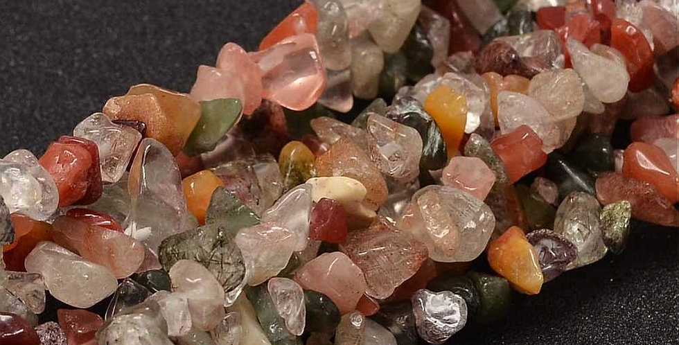 CLEARANCE - Natural Rutilated Quartz - Small Chips