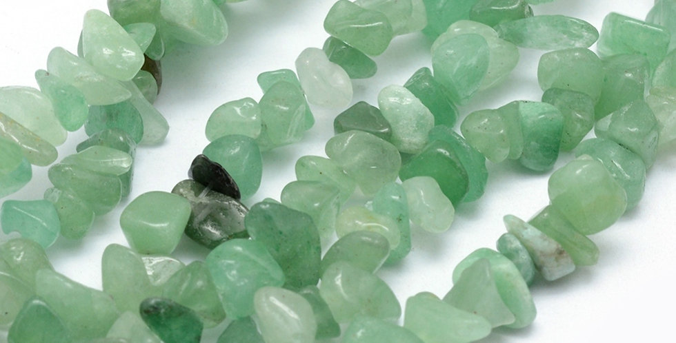 CLEARANCE -Natural Green Aventurine - Small Chips