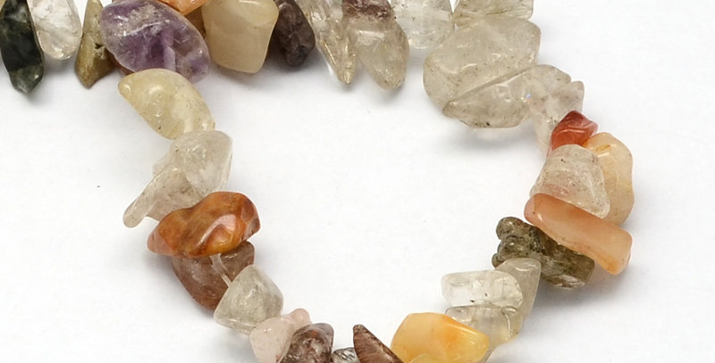 CLEARANCE - Natural Rutilated Quartz - Chips, Large