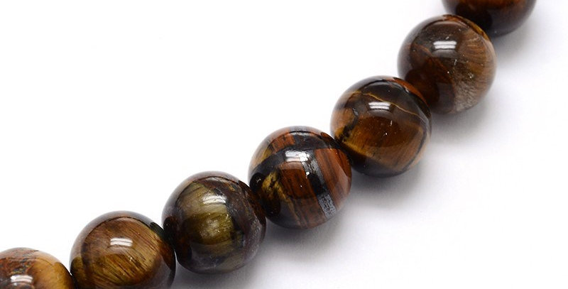 6 mm Natural Tiger Eye