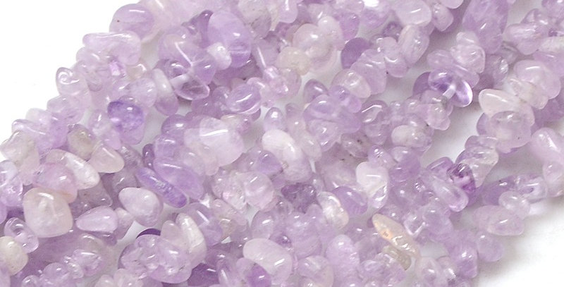 CLEARANCE -Natural Amethyst Light Purple Small Chips