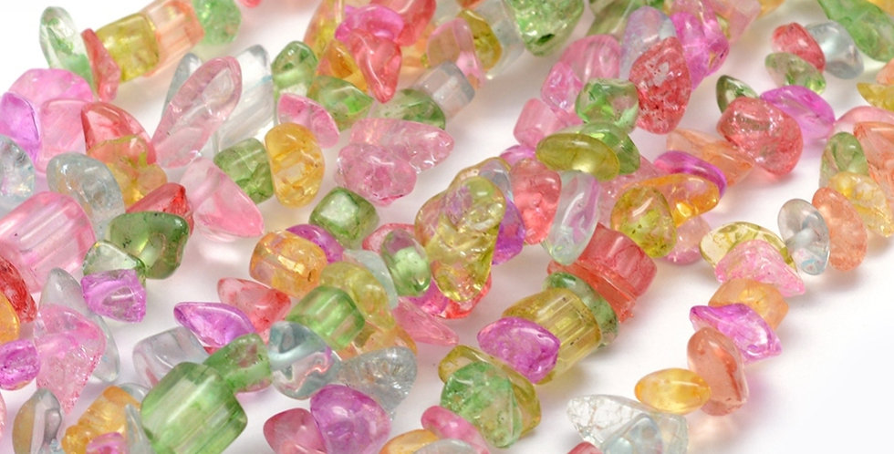 CLEARANCE -Crackle Glass - Small Chips