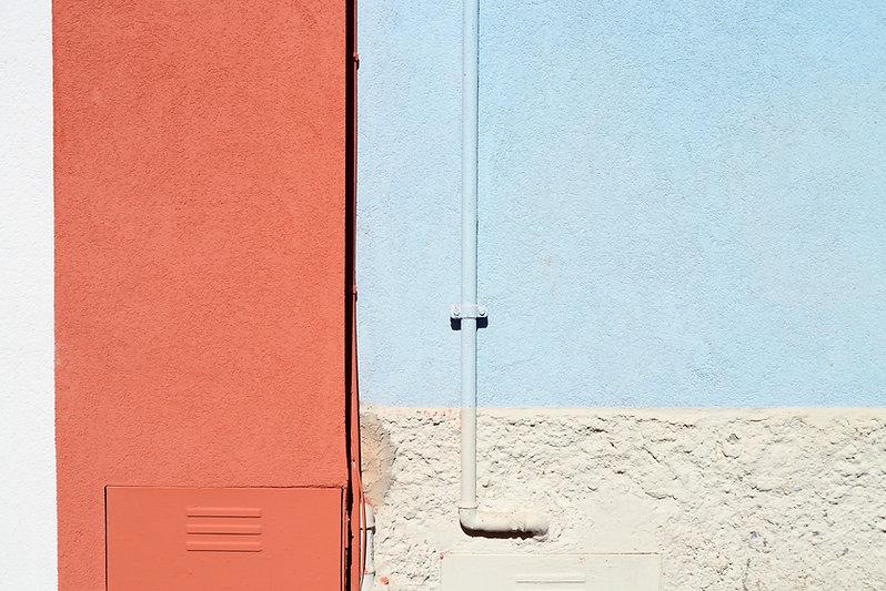 Painted Concrete