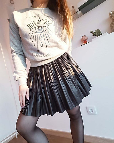 YOUR FUTURE - CROPPED SWEATER