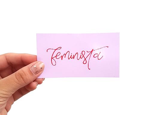 FEMINISTA - Autocolante