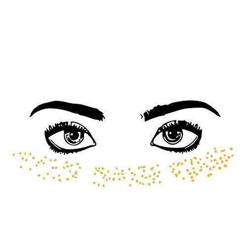 Gold Freckles - Tatuagem Temporária