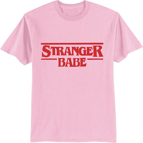 STRANGER BABE - Pink T-Shirt
