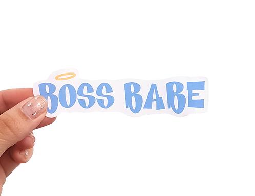 BOSS BABE - Autocolante