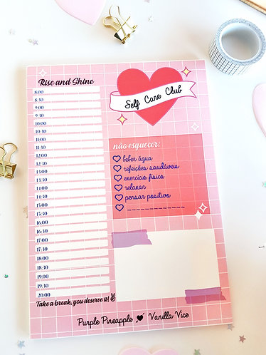 SELF CARE - Planner Semanal A5