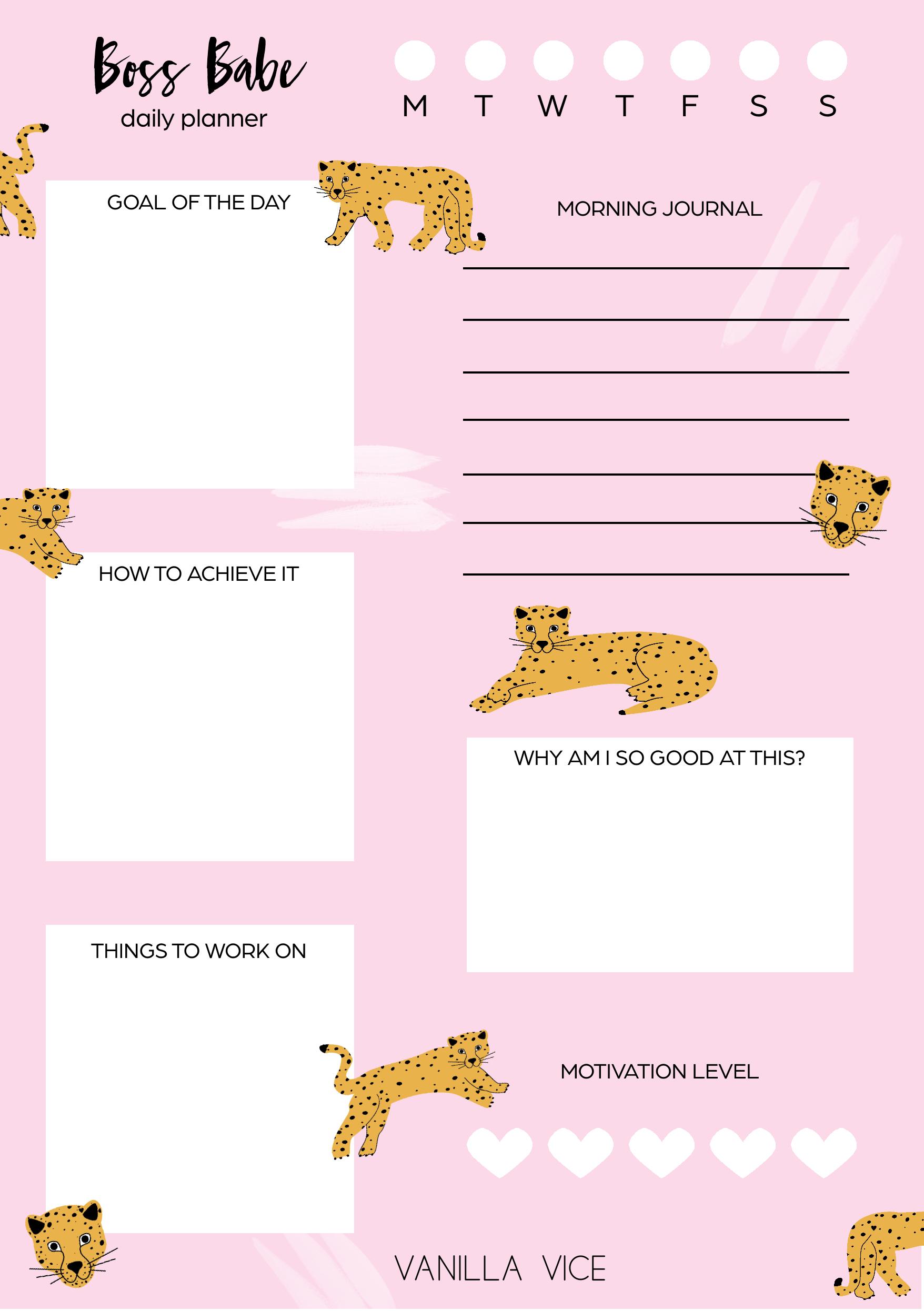 Planner-A5-Diario-Cheetah