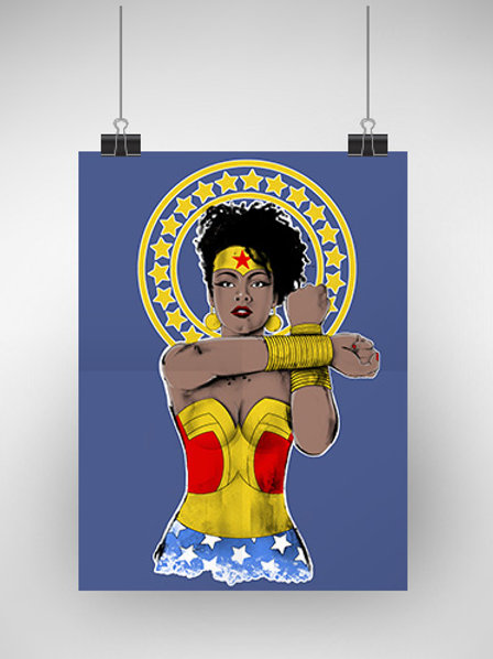 Poster - Núbia