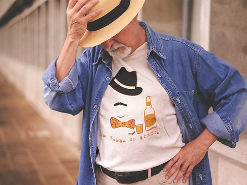 Camiseta Adoniran Barbosa