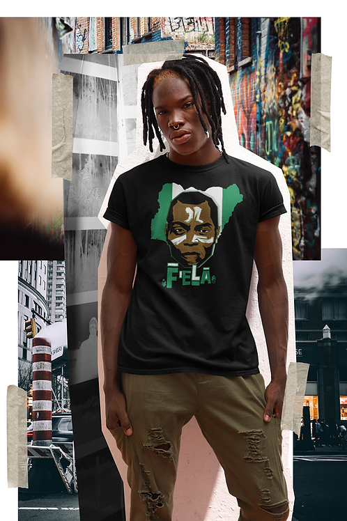 Camiseta Fela Kuti