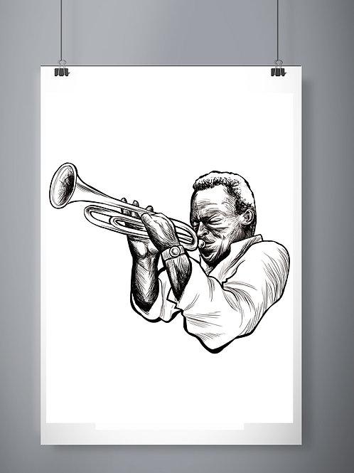 Poster - Miles Davis
