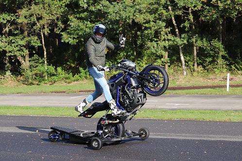 Wheelielesson Enschede (NL) 08-04-2020 Morning