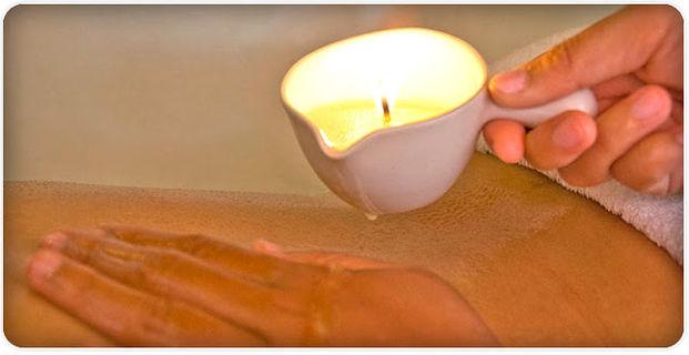 masagem com velas em condomínios e hotéis