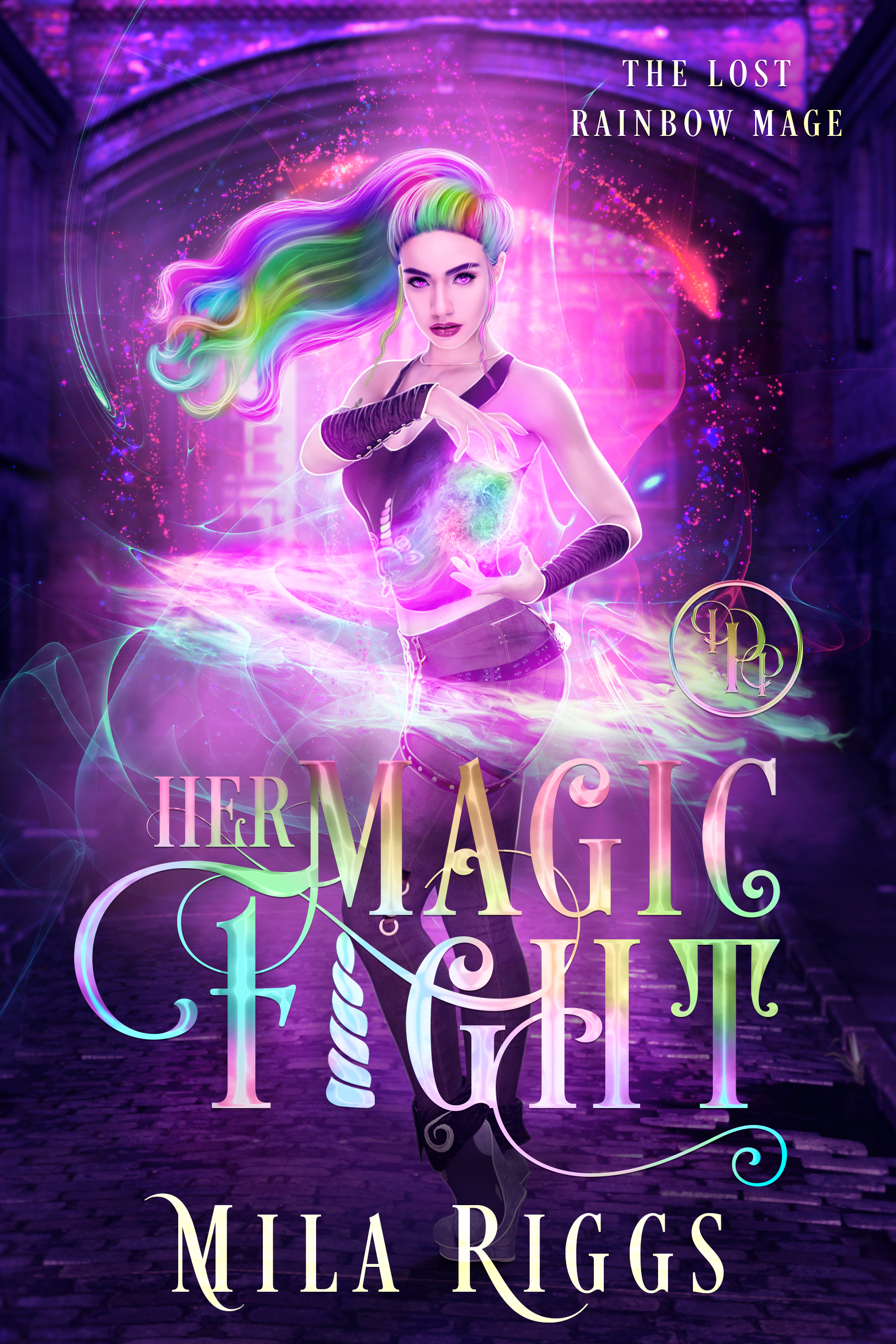 Her magic fight