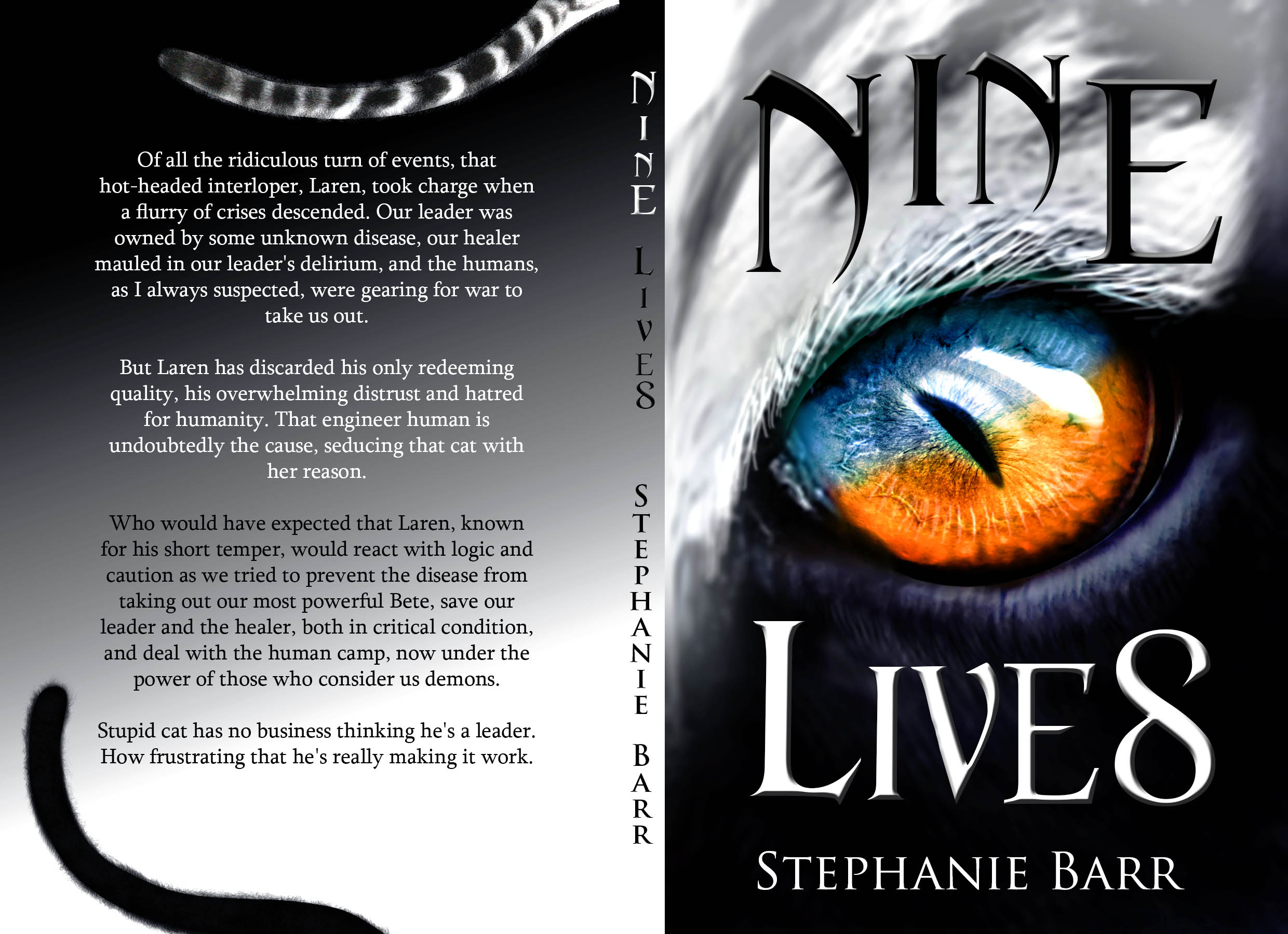 Nine Lives Cover Wrap
