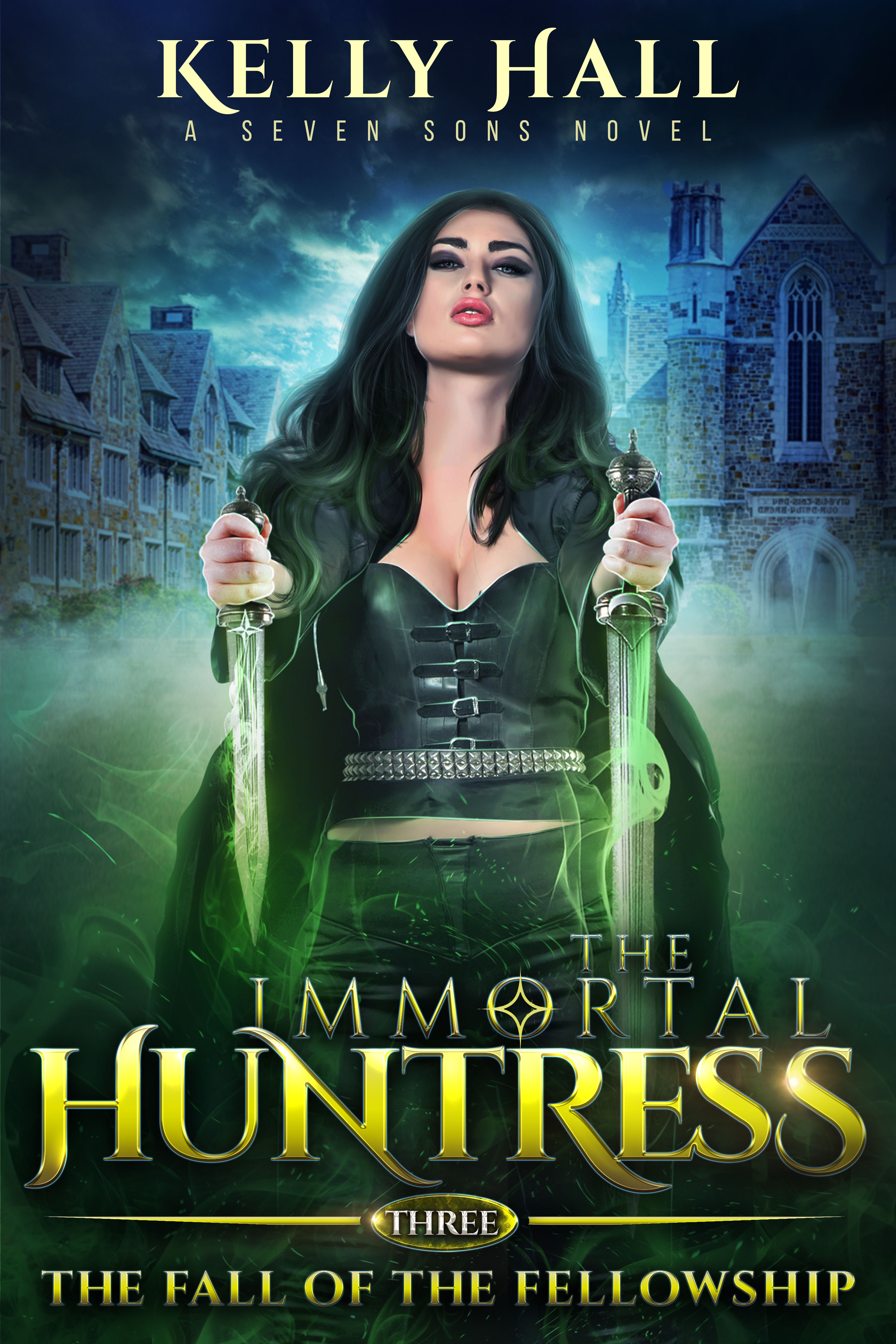 ImmortalHuntress Book 3