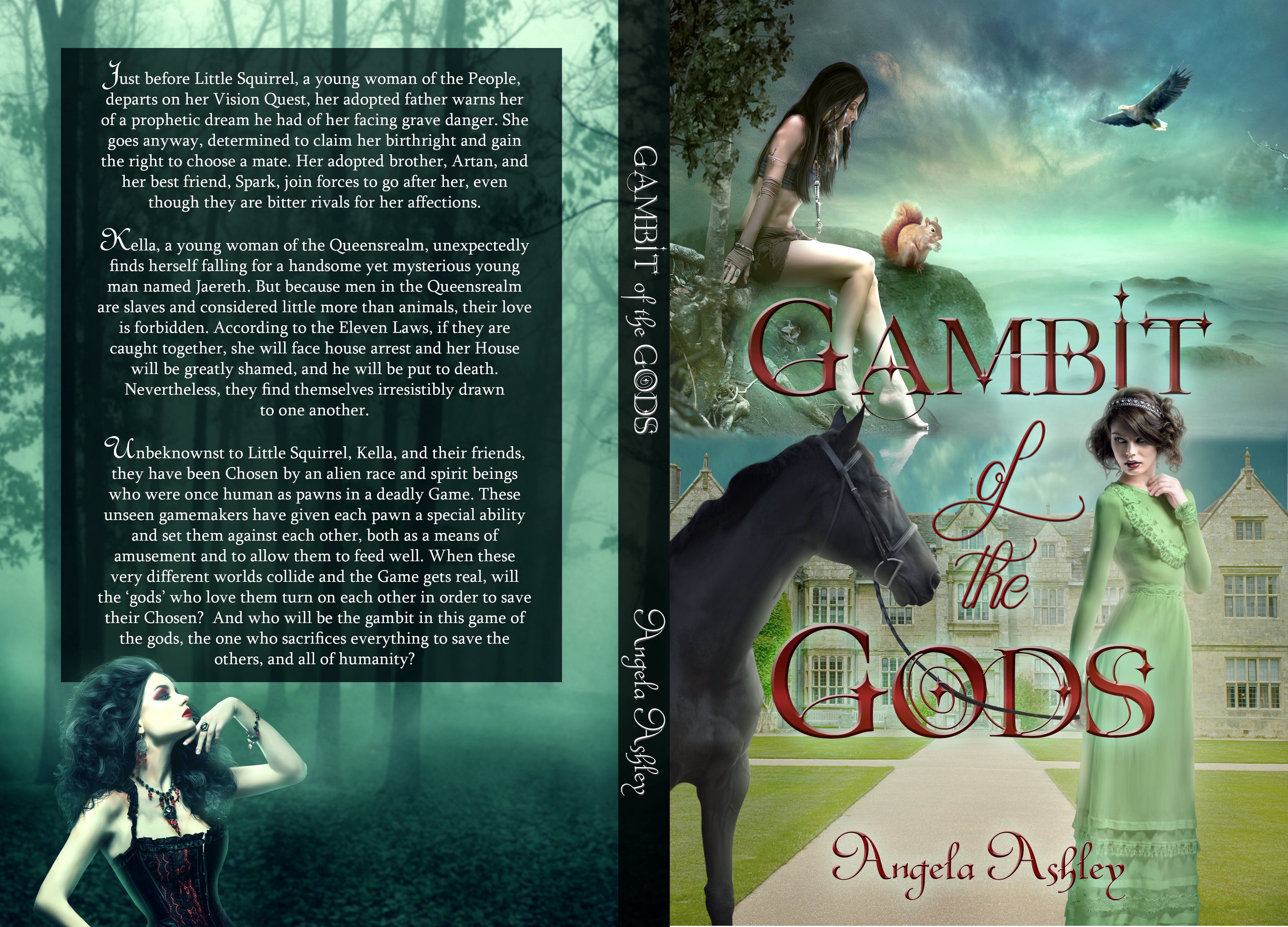 Gambot of the Gods Cover Wrap