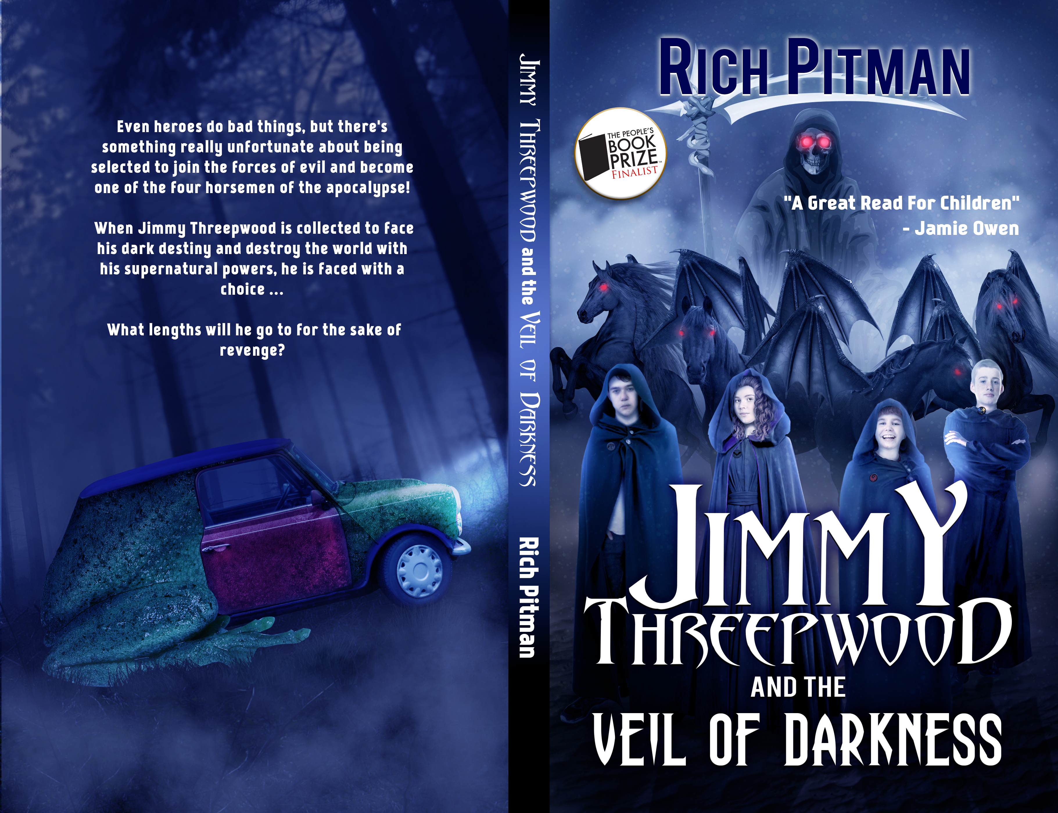 Jimmy Threepwood & the Veil of Darkness Wrap