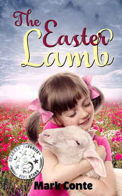 The easter lamb front