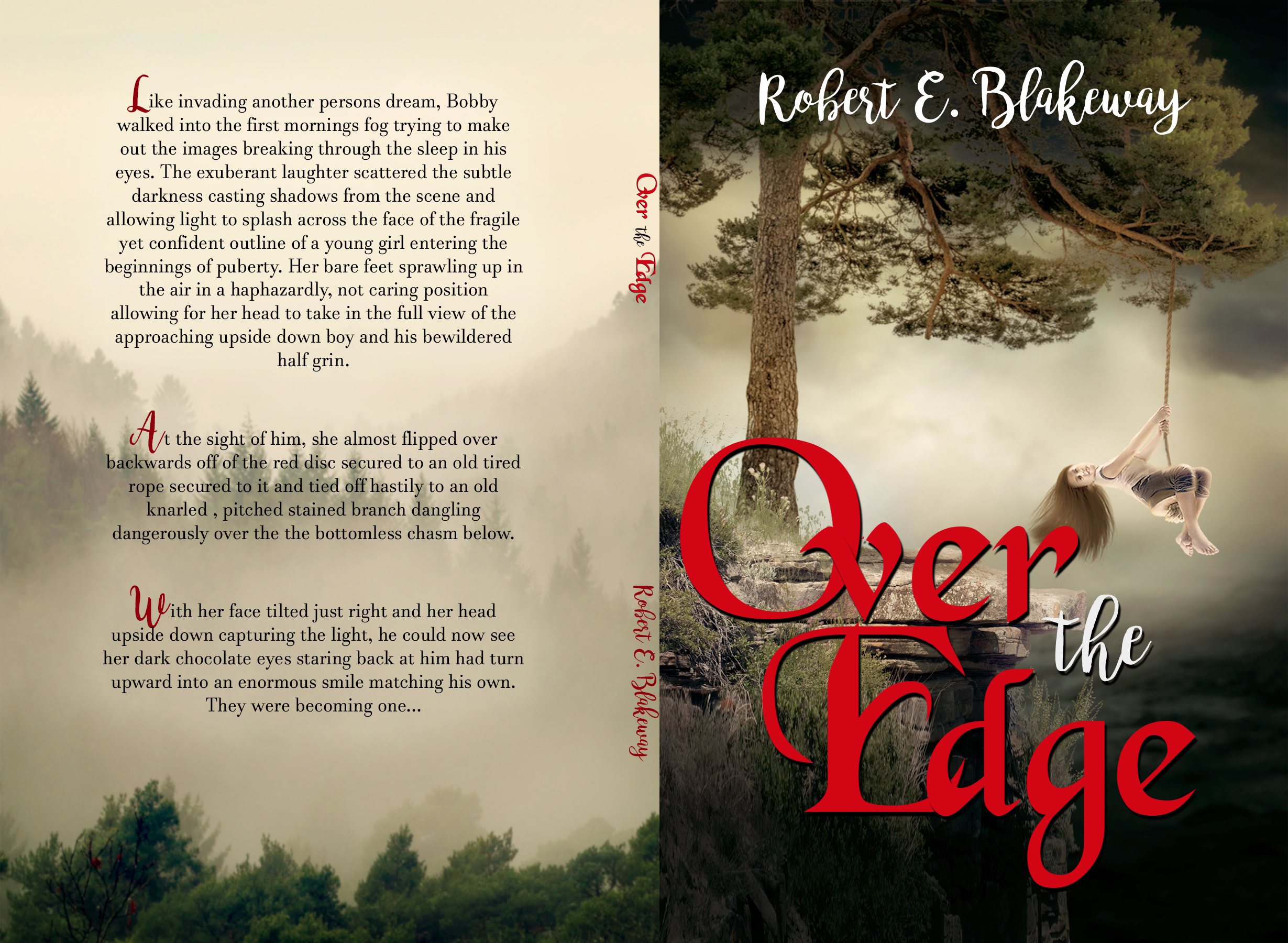 Over the Edge - Robert Blakeway Cover Wrap