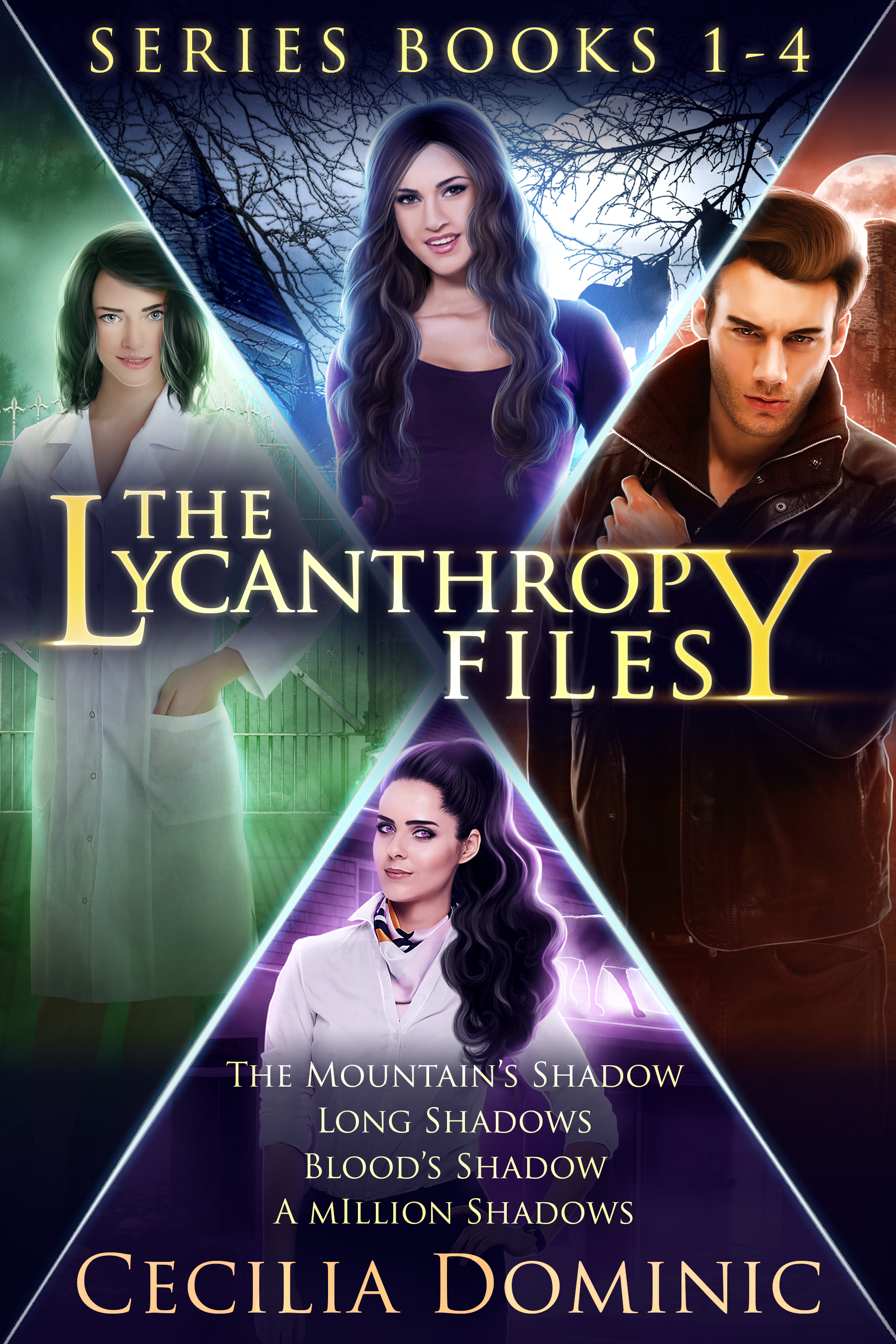 Series Cover Lycanthropy Files