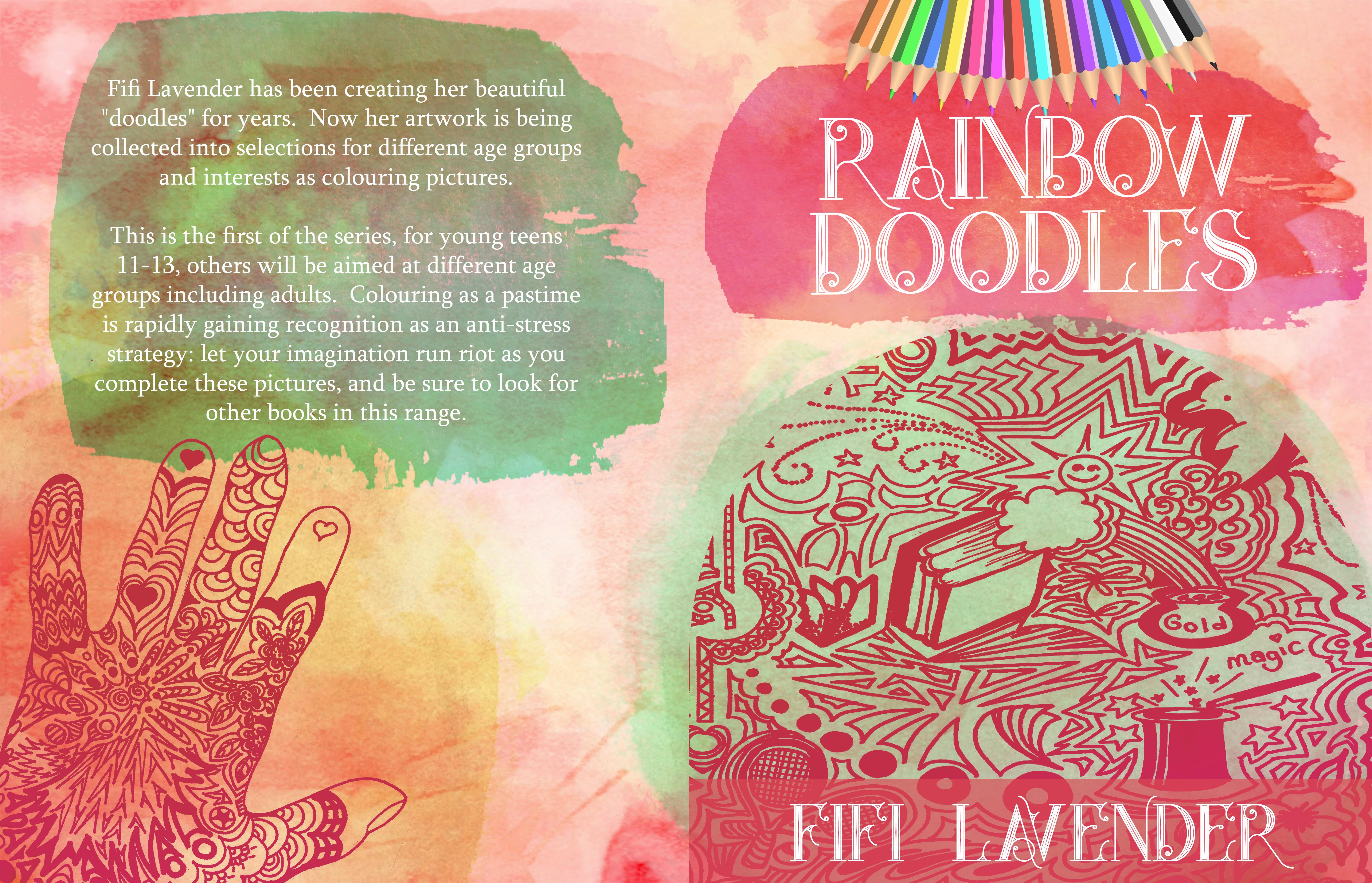 Fifi Lavender - Rainbow Doodles