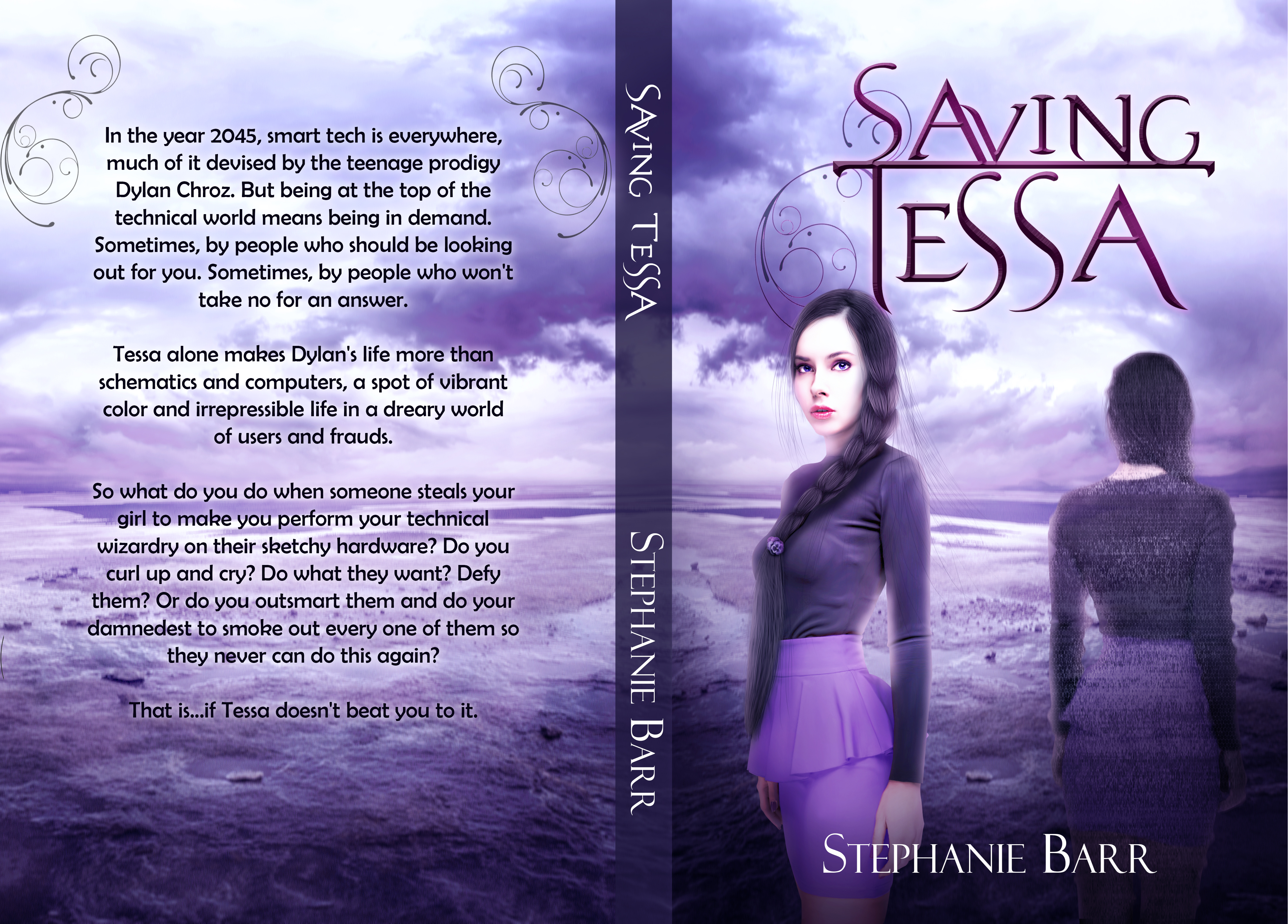 Saving Tessa Cover Wrap