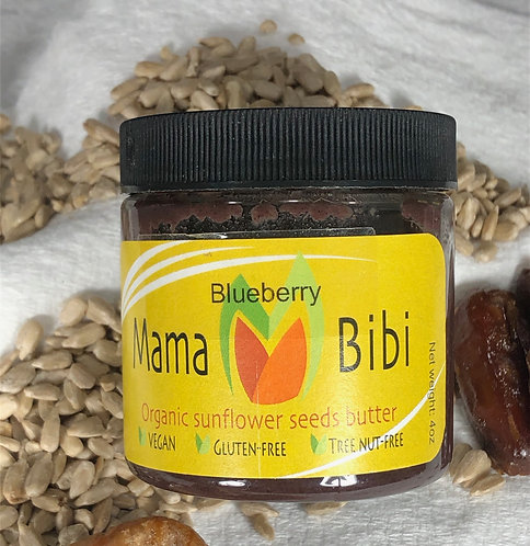 Sunflower Seed Butter with Blueberry