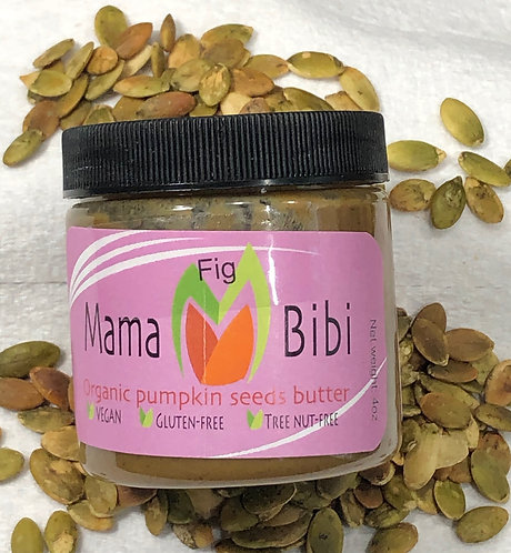 Pumpkin Seed Butter with Fig