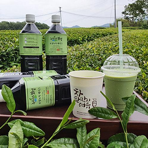 Boseong green tea base for cafe 1l