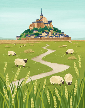 Mont-Saint-Michel Pasture