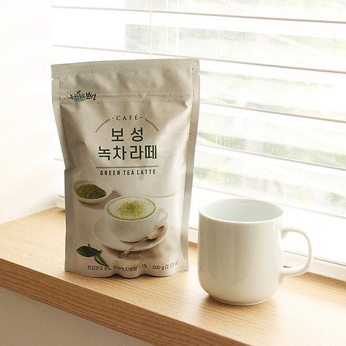 green tea latte powder