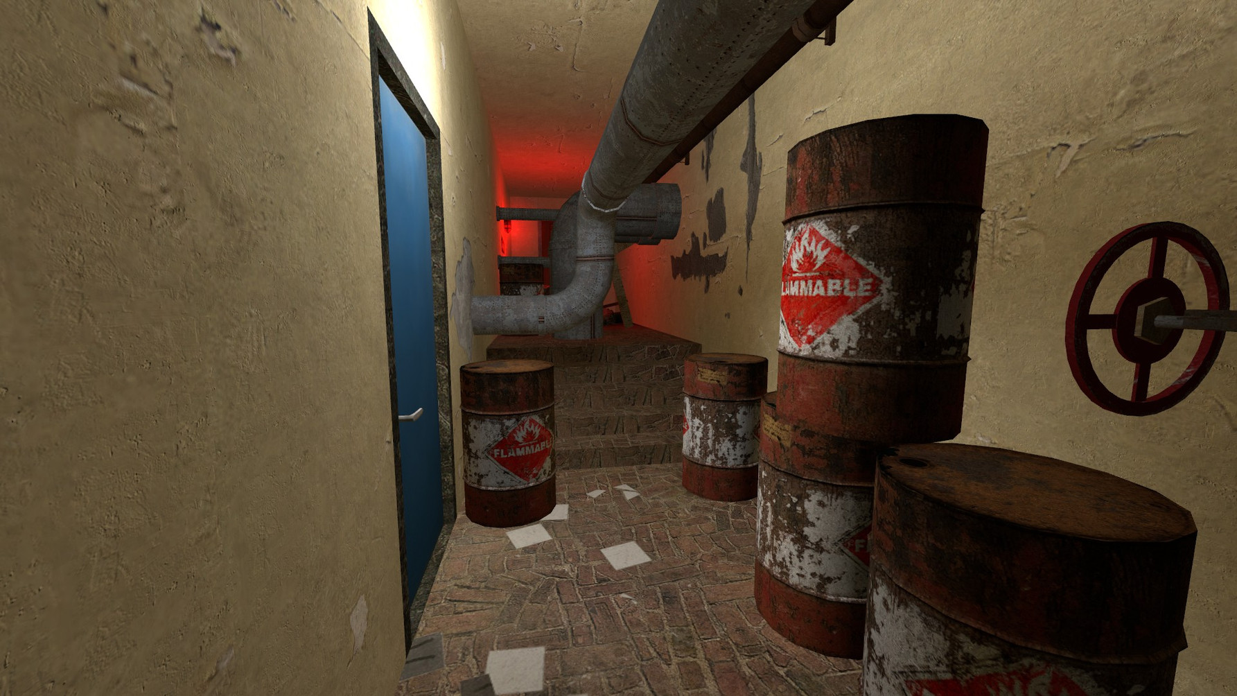 Barrel corridor