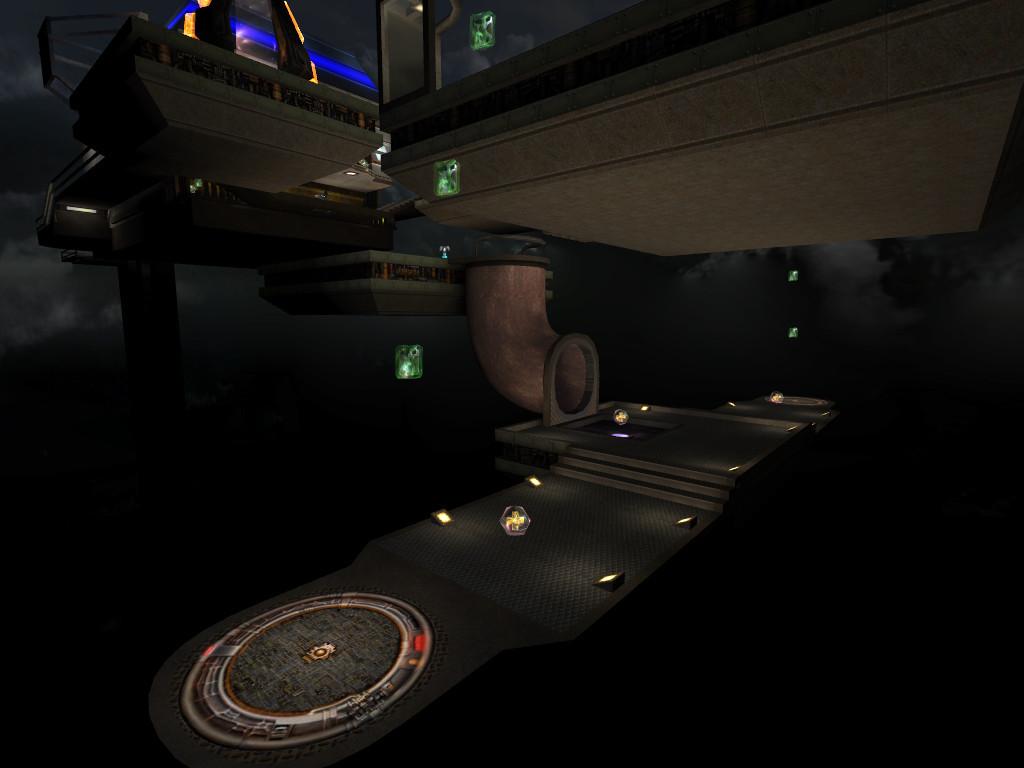 Main platform, underside
