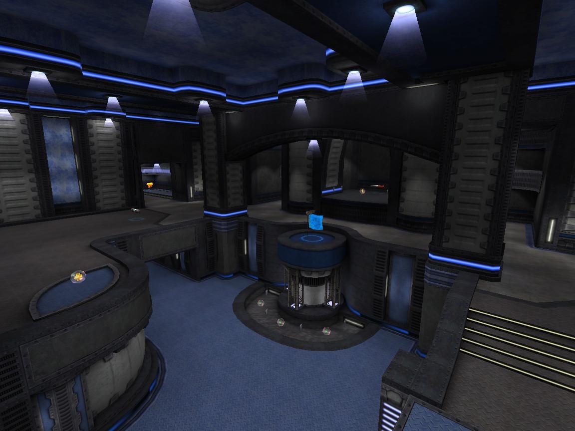 Blue flag room