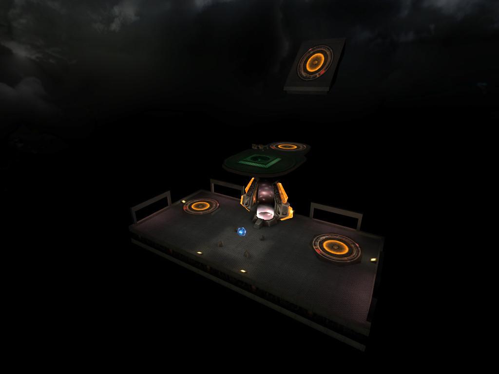 Megahealth and railgun platforms