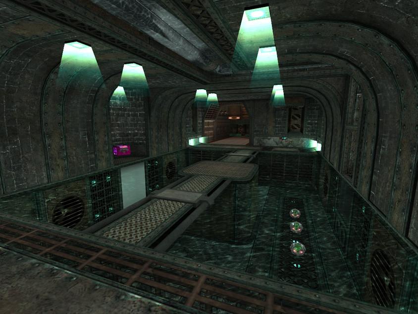 Plasma gun room