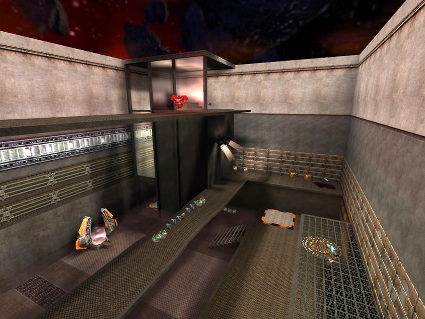 Railgun room/red armor catwalk