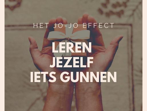 Het jo-jo effect: leren jezelf iets gunnen