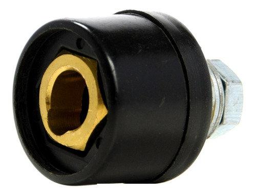 Conector hembra base fija